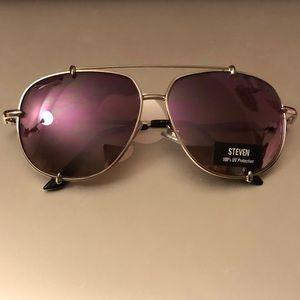 5ca42de41057 Steven By Steve Madden Accessories   Clubmaster Sunglasses   Poshmark